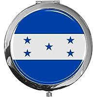 """metALUm - Extragroße Pillendose in runder Form""""Flagge Honduras"""" preisvergleich bei billige-tabletten.eu"""