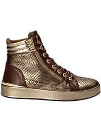 Bronze 4q4z1fxf Montante Baskets Femme Guess Vanda IYb6yf7gv