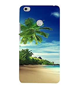 PrintVisa Travel Beach Art Design 3D Hard Polycarbonate Designer Back Case Cover for Xiaomi Max