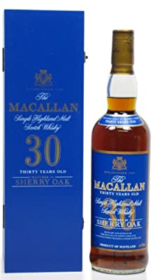 Macallan - Sherry Oak Speyside Malt Blue Label 30 year old