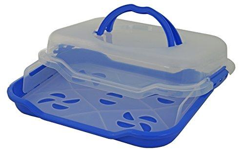 Gies Haushaltsware, Plastik, blau, 38.5 x 29 x 9.5 cm