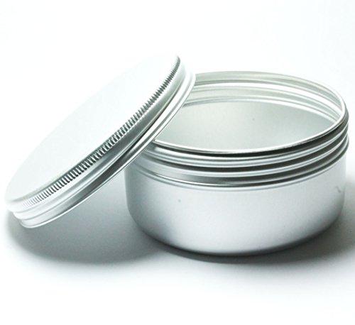 5x-aluminium-tins-jars-pot-container-100ml-for-nail-art-makeup-cosmetics-travel-creams-lip-balms-tat