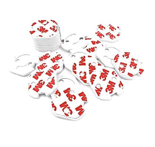 Protector Enchufes Seguridad Infantil Con Mecanismo De Giro Y Adhesivo 3M Ideal Para Bebes Niños Y Pequeños En El Hogar [20 Tapas Color Blanco] Schuko Europeo
