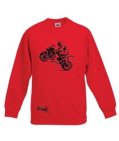 Art T-shirt - Sweat-Shirt Rouge