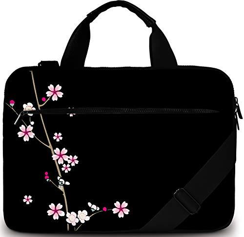 Sidorenko Laptoptasche 15/15,6 Zoll - Moderne Notebooktasche aus Canvas - Hochwertige Laptop Tasche - Schmutz- & Wasserabweisende Laptop Bag mit Zubehörfach -