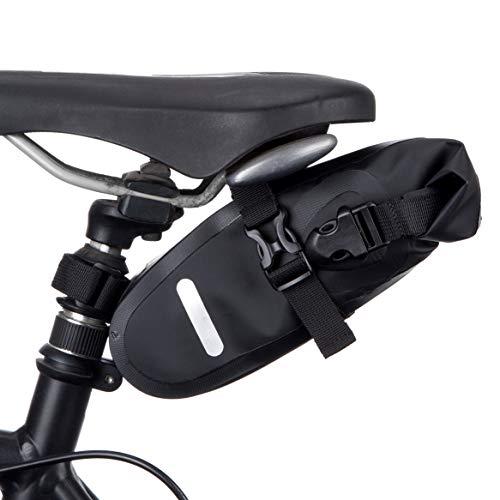 BTR Wasserfeste Allwetter Fahrradtasche für den Sattel, Satteltaschen für Fahrrad