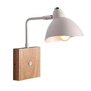 Wandbeleuchtung Skandinavischen Gerüste Gerüste Wohnzimmer Moving Head Arm Massivholz Kunst Licht Kreative Einfache Nachttischlampe Schlafzimmer Wandleuchte, D12*H28 Cm