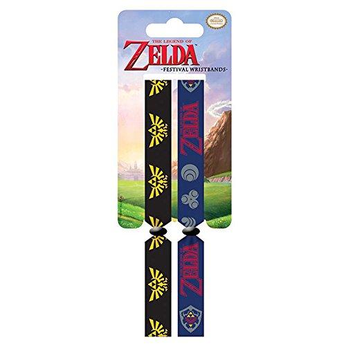 La leyenda de Zelda Triforce pulseras festival doble oficial de enlace