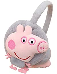 Missby Exquisite Plush Ear Muffs/Warmer - GREY Peppa Pig Lovers