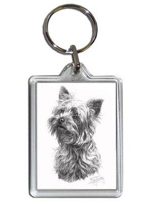 Mike Sibley Yorkshire Terrier Hund Schlüsselanhänger