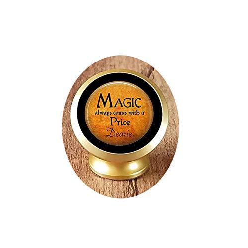 bab Magic Always Comes a Price Dearie KFZ-Handyhalterung für Halloween, Rumpelstilzin-Zitat Once Upon a Time