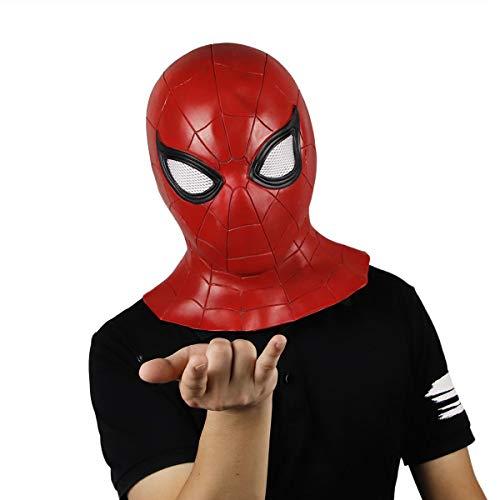 hcoser Spiderman Maske Homecoming Spiderman Hood Cosplay Helm Comics Hero Kopfbedeckung Kostüm für ()