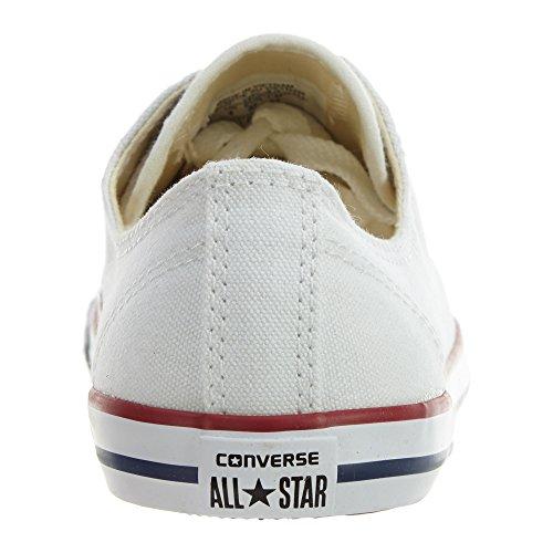 Converse CT Dainty Ox C537204 Damen Sneaker Weiß (Blanc/Rouge)