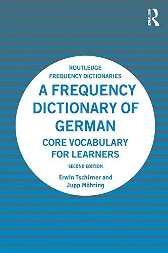 A Frequency Dictionary of German: Core Vocabulary for Learners (Routledge Frequency Dictionaries) (English Edition)