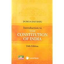 Introduction to the Constitution of India (24th Edition)