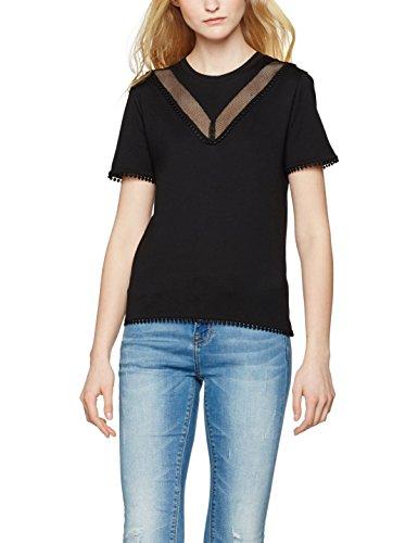 find-womens-mesh-insert-t-shirt-black-medium