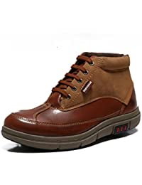 Provogue Men's Brown Casual Sneakers
