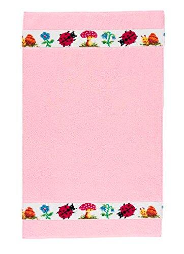 Feiler paulix00100501 Kinderhandtuch Pauli Größe 50 x 80 cm, rosa (Dusche Aufheller)
