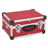 Varo PRM10106 - Valigetta in alluminio per attrezzi, colori assortiti Rosso