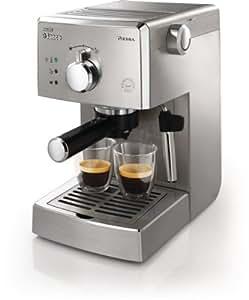 Saeco HD8327/91 Machine à Espresso Manuelle Poemia Inox