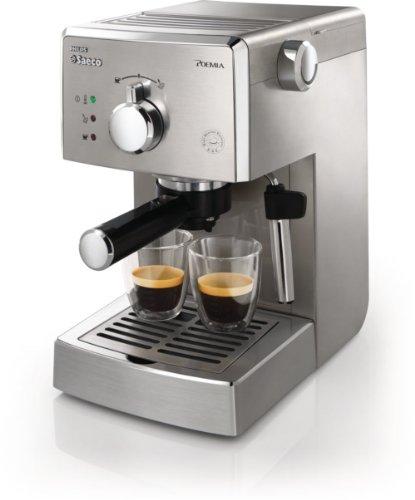 Philips Saeco HD8327/91 Poemia Top SS, Macchina per Caffè Espresso Manuale