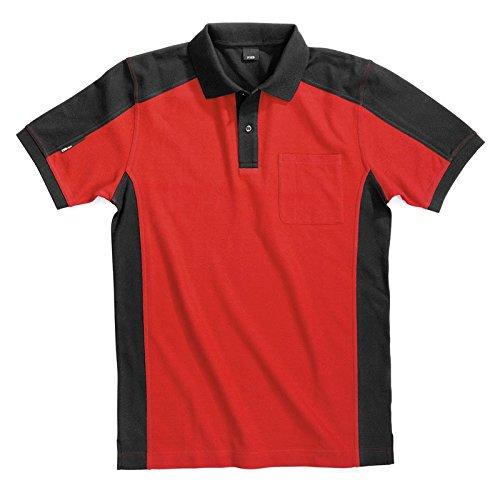 FHB Polo-Shirt KONRAD rot