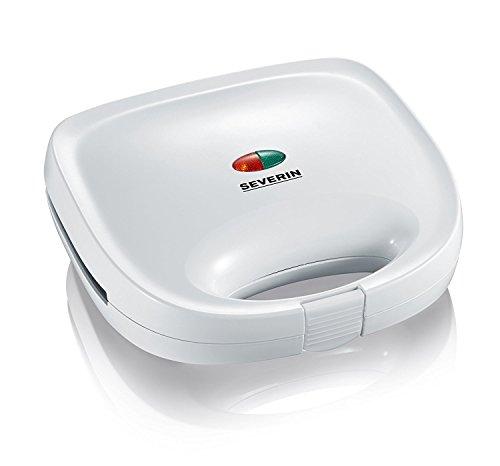 SEVERIN Sandwich-Toaster, Sandwichplatte, 600 W, SA 2971, Weiß (Zertifiziert und Generalüberholt)