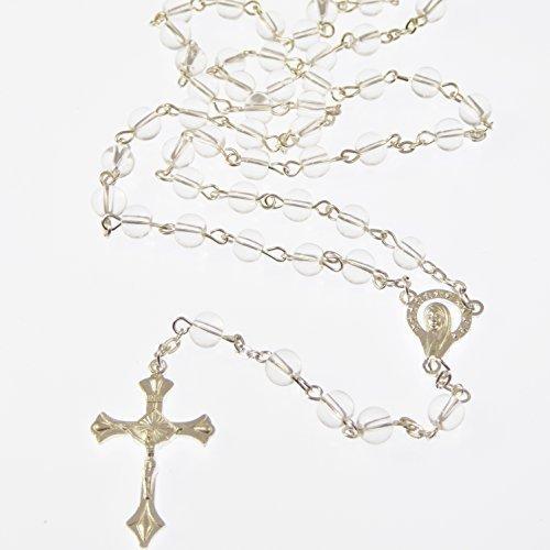 rosario-con-perline-di-vetro-trasparente-da-6mm-centrino-nostra-signora-croce-e-catena-argentate