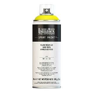 Liquitex Professional Spray Paint 400 ml, Yellow Medium Azo