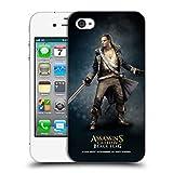 Head Case Designs Offizielle Assassin's Creed Benjamin Hornigold Schwarze Fahne Darsteller Ruckseite Hülle für iPhone 4 / iPhone 4S
