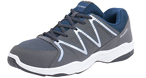 Action Campus Austin Series Dark Grey & Battle Green Color Casual Shoes For Men ( Size :- 7UK)  available at amazon for Rs.584