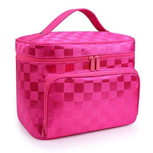 Uioy Cosmetic Bag - Tragbare Kosmetiktasche mit großer Kapazität (Color : D) -