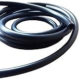 """1metro de tubo de combustible para Ride-On Cortacésped Motores 5mm 8mm de diámetro interior de 3/16""""5/16"""" de diámetro exterior de caucho nitrilo Gasolina Diesel Líneas"""