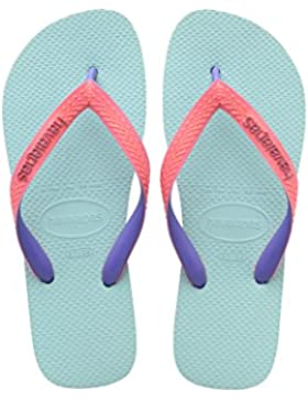 Havaianas Top Mix, Chanclas Unisex Adulto, Azul (Ice Blue 0642), 31/32 EU (29/30 Brazilian)