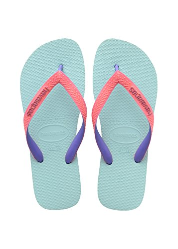 Havaianas Kinder Flip Flops Top Mix, Mehrfarbig (Ice Blue 0642), 27/28 EU (25/26 Brazilian) (Blue Flip Flop Kinder)