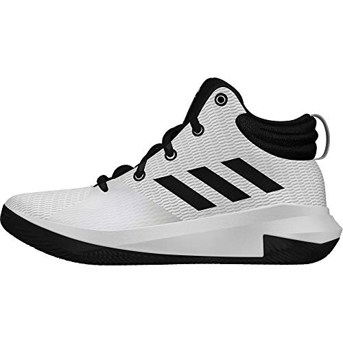 adidas Unisex-Kinder Pro Elevate Basketballschuhe, Weiß Cblack/Ftwwht, 38 EU
