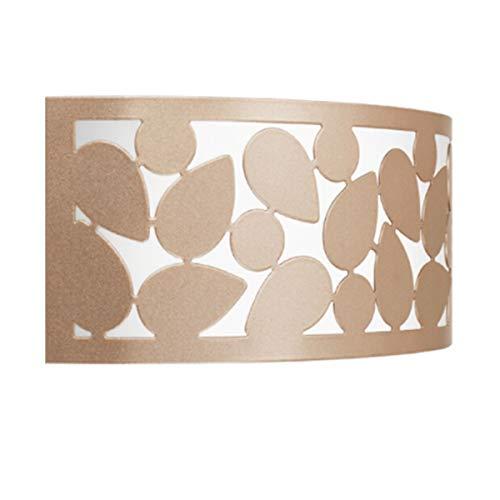 KUQIQI Wandleuchte, LED Schlafzimmer Nachtwandleuchte, Raumgang Korridor Wandleuchte, warme romantische Gartenwandleuchte, Beleuchtung, Lampen (LED Modelle) (Color : Rose Gold) -