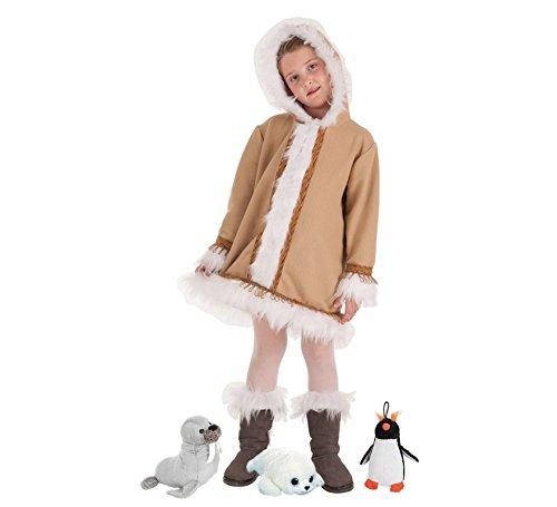 Zzcostumes LLOPIS Kinder Eskimo Kostüm für Mädchen t-5