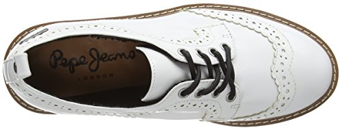 Pepe Jeans London Ramsy Basic, Jeans Donna Bianco (Weiß (White 800))