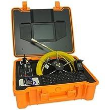 mabelstar 40 m cable tubo de inspección cámara, cámara con DVR, tuberías de drenaje
