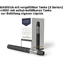 Lynden VOD Starterkit mit Liquid für E-Zigaretten 2ml / oder mit wiederbefüllbaren Tank 2ml (ohne Nikotin) by Sensation-LiquidsDE (VOD Set + 2x selbst-befüllbaren Tank 2ml)