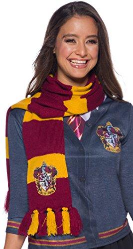 41Ag4RxwfAL - Harry Potter Deluxe Bufanda Gryffindor, Multicolor, (Rubie'S 39033)