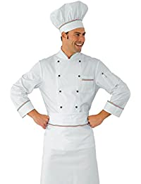 Clothing, Shoes & Accessories Chef Cuisinier Veste Enrica Grande Taille 3xl 4xl 5xl Blanc M\m Isacco Other Men's Clothing