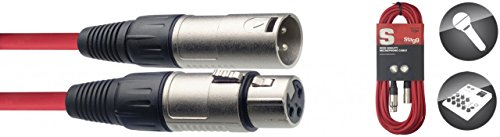 Stagg 10m alta qualità Plug cavo per microfono XLR