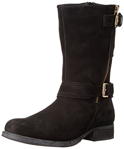 Steve Madden Kavilier Motorcycle Boot Black