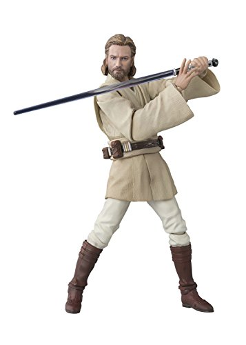 S. H. s.h.figuarts Star-Wars Obi-Wan Kenobi (ATTACK OF THE CLONES) 150 mm ABS-&PVC action figure