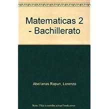 Matematicas, 2º bachillerato