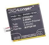 vhbw Li-Polymer Akku 2100mAh (3.85V) für Handy Smartphone Telefon HTC One A9, A9 LTE