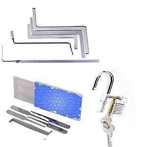 cerrajeros baratos: Multifuctional cerrajero Kit, cheap Lock práctica herramienta con protección ant...