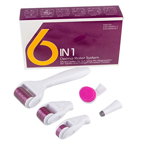 Worsworthy Dermapen Dr.Pen A1 elektrisch Microneedling Pen 0.25mm-3.0mm, Microneedling Roller,incl. 2x Aufsatz mit 12 Micronadeln, Verstellbare Nadellänge und Geschwindigkeit Wiederaufladbar (Weiß)